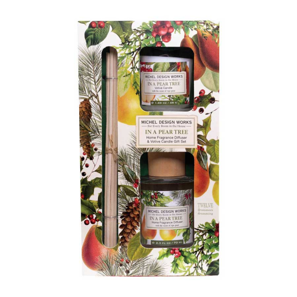 Michel Design Works:In A Pear Tree Home Fragrance Diffuser - The Laundry Evangelist