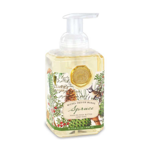 Michel Design Works Spruce Foaming Shea Butter Hand Soap - The Laundry Evangelist