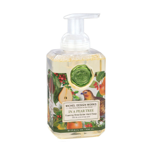 Michel Design Works In a Pear Tree Foaming Shea Butter Hand Soap - The Laundry Evangelist
