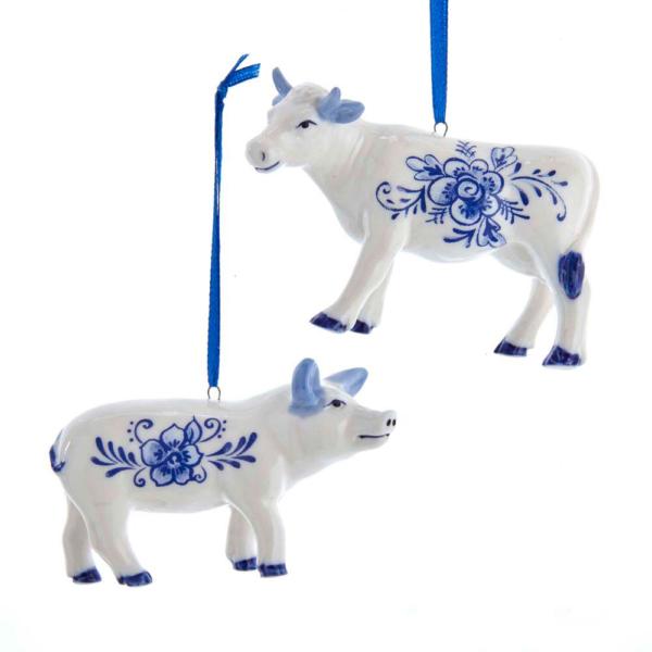 Porcelain Delt Cow - The Laundry Evangelist