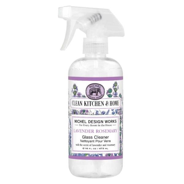 Michel Design Works Lavender Rosemary Glass Cleaner - The Laundry Evangelist