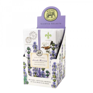 Michel Design Works Lavender Rosemary Scented Sachets - The Laundry Evangelist