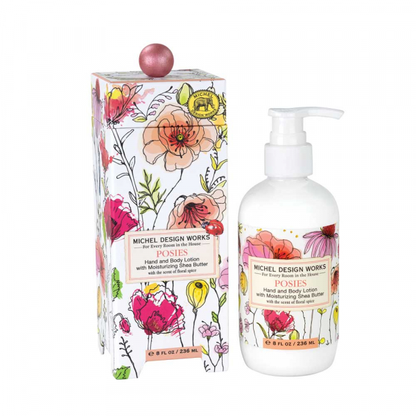 Michel Design Works Posies Hand & Body Lotion - The Laundry Evangelist