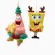 Spongebob & Patrick Ornament - The Laundry Evangelist