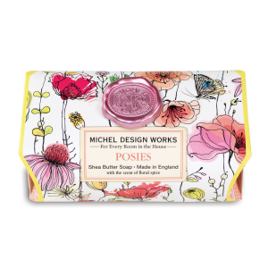 Michel Design Works Posies Shea Butter Soap - The Laundry Evangelist