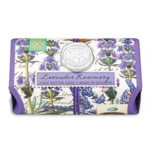Michel Design Works Lavender Rosemary Shea Butter Soap - The Laundry Evangelist